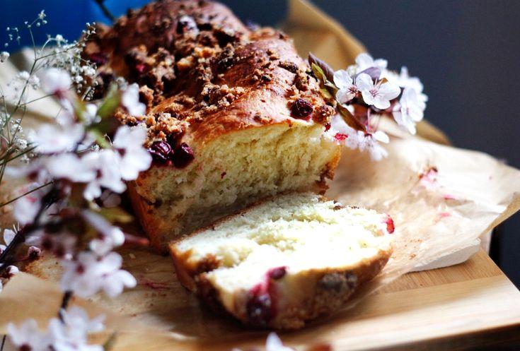 Ciasto drożdżowe z wiśniami <3