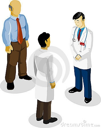 Doctor and Medical Isometric by Sukmaraga, via Dreamstime