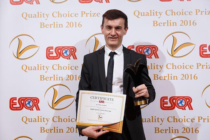 Očna Klinika Svjetlost postala je prva hrvatska tvrtka s vrijednim priznanjem Quality Choice Prize. U sklopu svečanosti koja je u Berlinu održana 13. prosinca, Europsko društvo za istraživanje kvalitete (ESQR) dodijelilo je oftalmološkoj Klinici Svjetlost prestižno priznanje Quality Choice Prize za 2016. godinu. http://svjetlost.hr/novosti/svjetlost-primila-novo-europsko-priznanje-za-kvalitetu/374