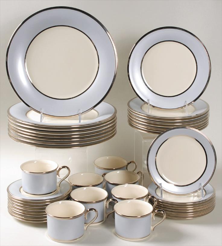 Nice simple elegant china plate set. & 11 best Noritake Lookbook images on Pinterest | Noritake Dinnerware ...