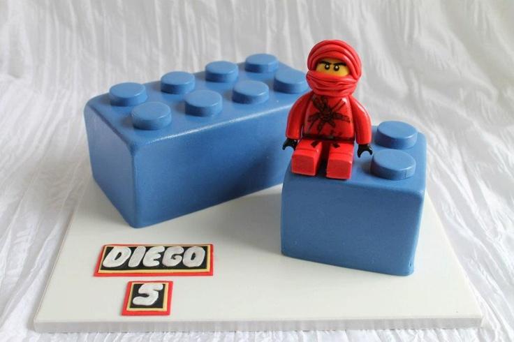 Ninjago Lego Cake by Queen of Cakes - W.A. - www.cakeappreciationsociety.com