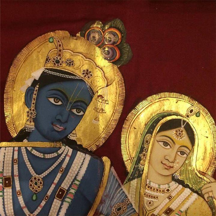 Lotus-Eyed Sri Krishna : Photo