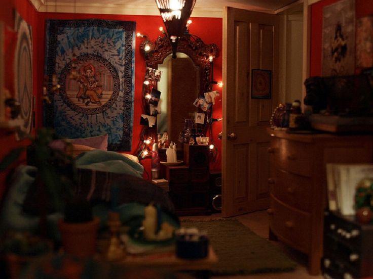 renkli bohem tarz yatak odası ev bohem dekorasyon modeli örneği - Kadın Moda