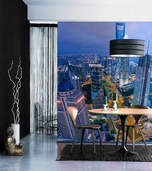 Fotomurales ciudades para decoraci n de paredes interiores - Decorar con fotomurales ...