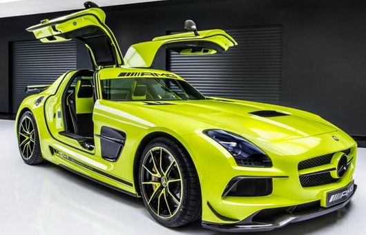 Mercedes SLS AMG Black Series by AMG Performance Studio