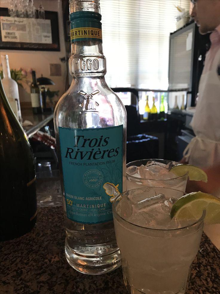 Trois Rivières Rhum Agricole Daiquiri cocktail at Café Degas New Orleans