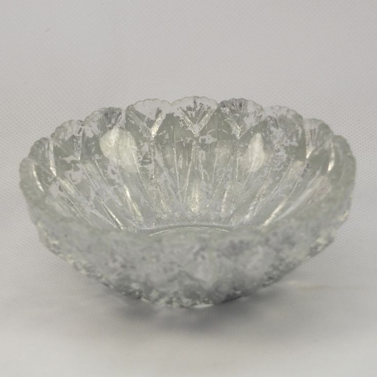 Vintage silver foil bowl