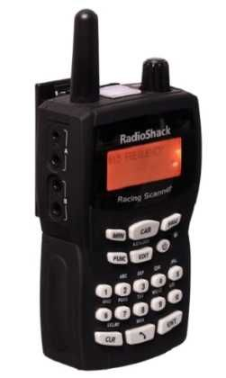 Radioshack NASCAR Radio Scanner http://scannerheaven.com