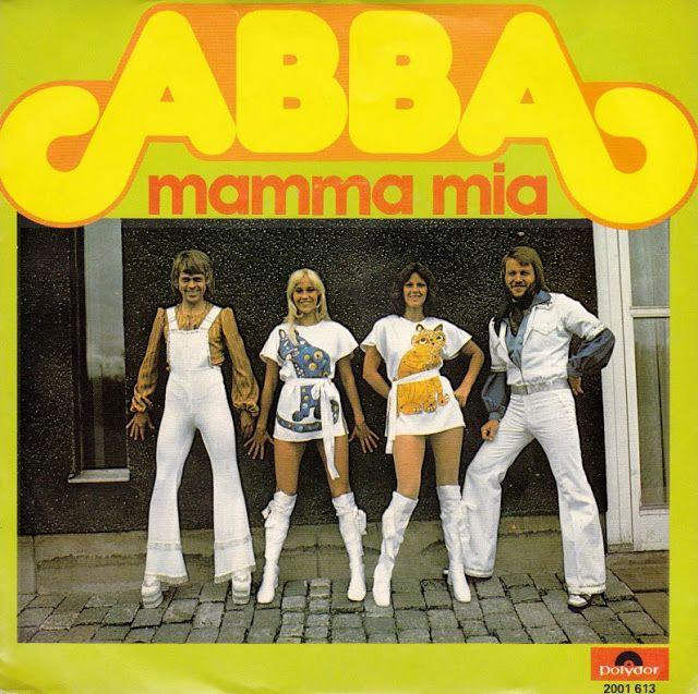 Vintage Abba Album Covers Vintage Everyday Mamma Mia Music