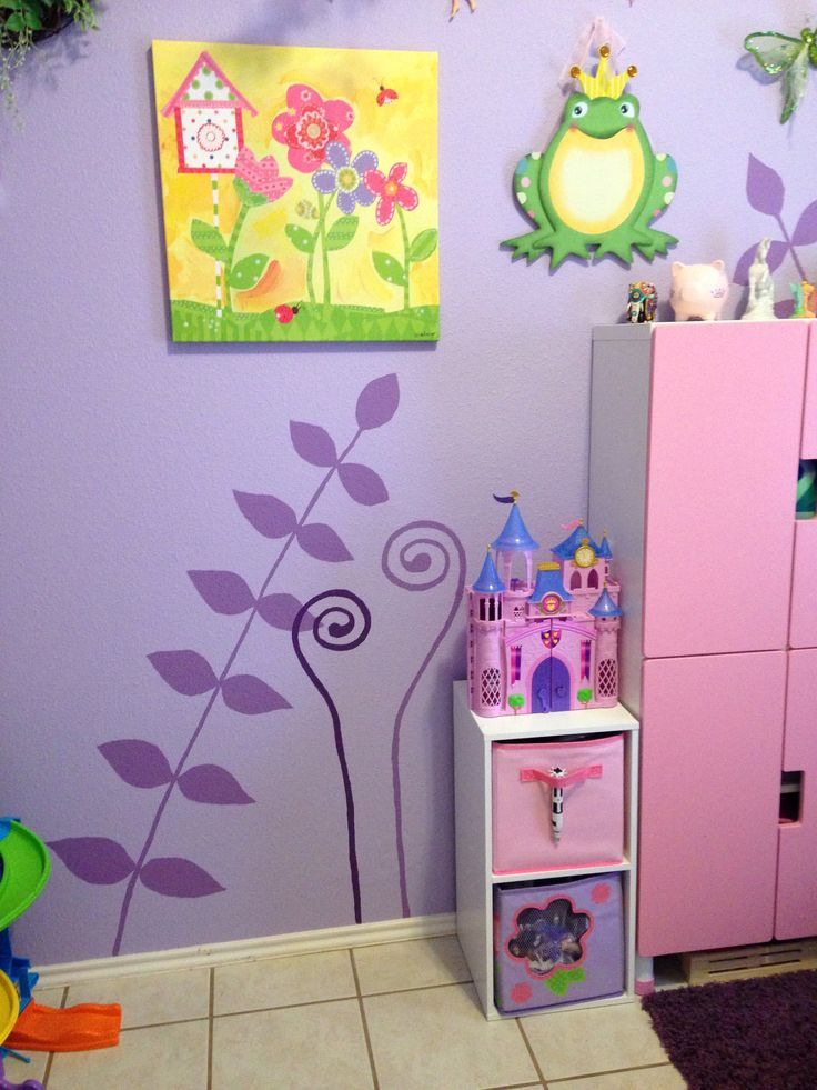 Fairy Themed Bedroom Decorations: Disney Tinkerbell Fairy Themed Kids Play Room. I Free