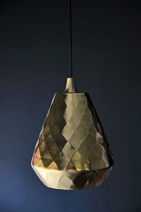 Brass Aston Ceiling Light