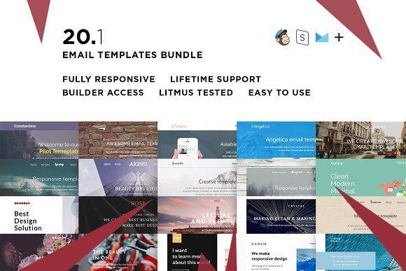 20 Email templates bundle I