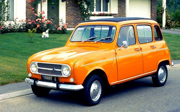 Renault-4. The 1st car I bought new in 1972. Assembled in Rhodesia.