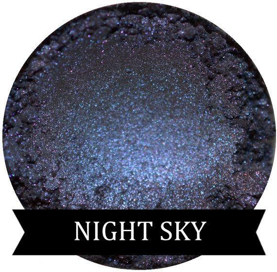 Smokey Nachtblauw oogschaduw NACHTELIJKE hemel door SpectrumCosmetic