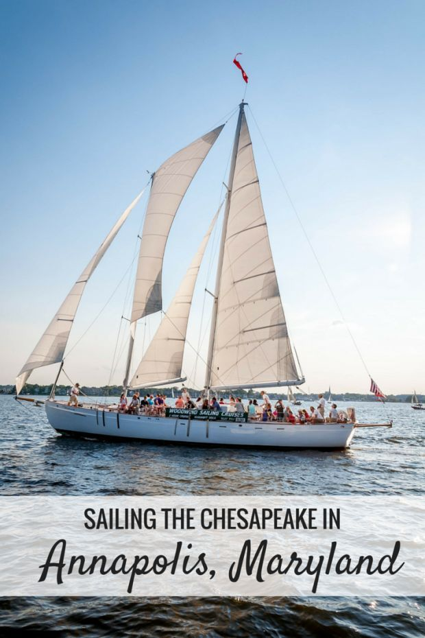 Sailing on the Chesapeake Bay is a