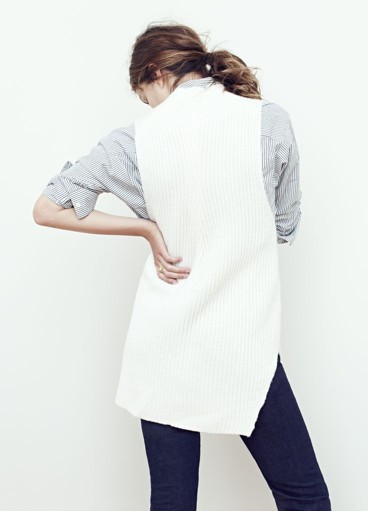 madewell chronicle texture pullover sweater worn with the ...