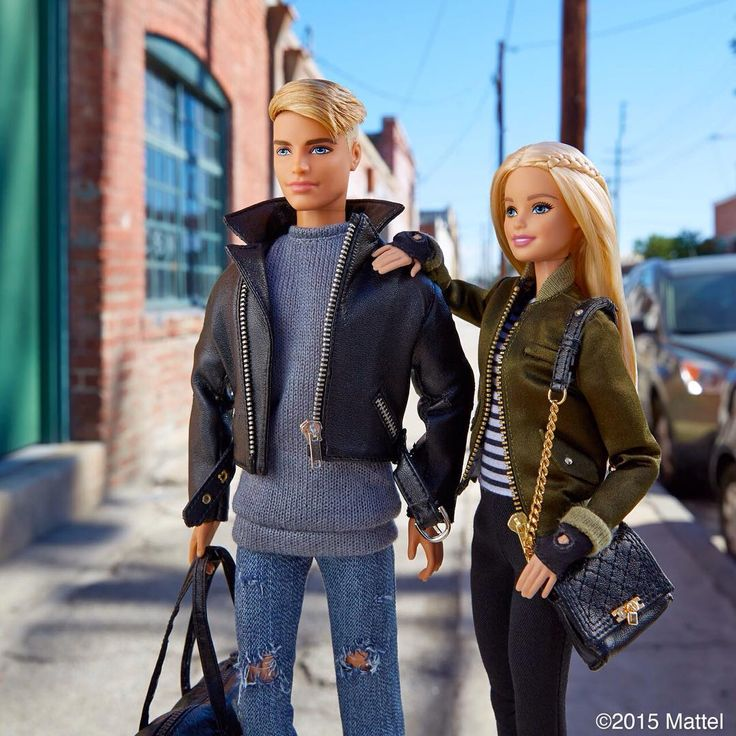 On-the-go in our layered looks!  #barbie #barbiestyle