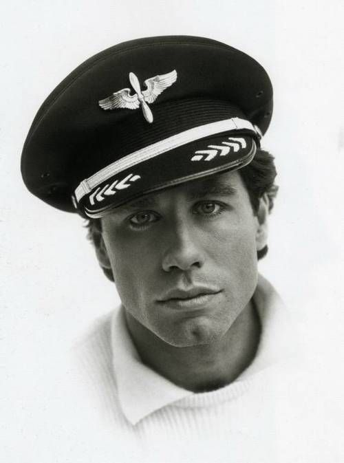 John Travolta: photography collector Roy Kahmann  © Herb Ritts