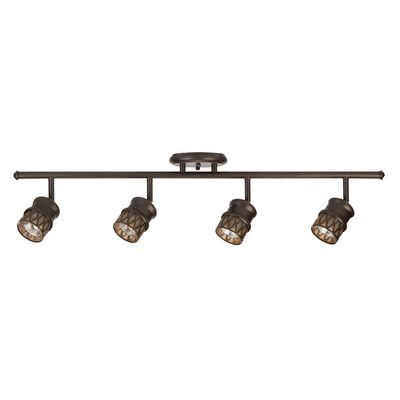 Globe Electric Company 4 Light Track Light Kit & Reviews | Wayfair