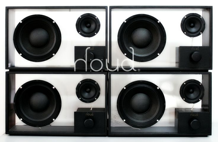 Active - houd - sound wood speakers