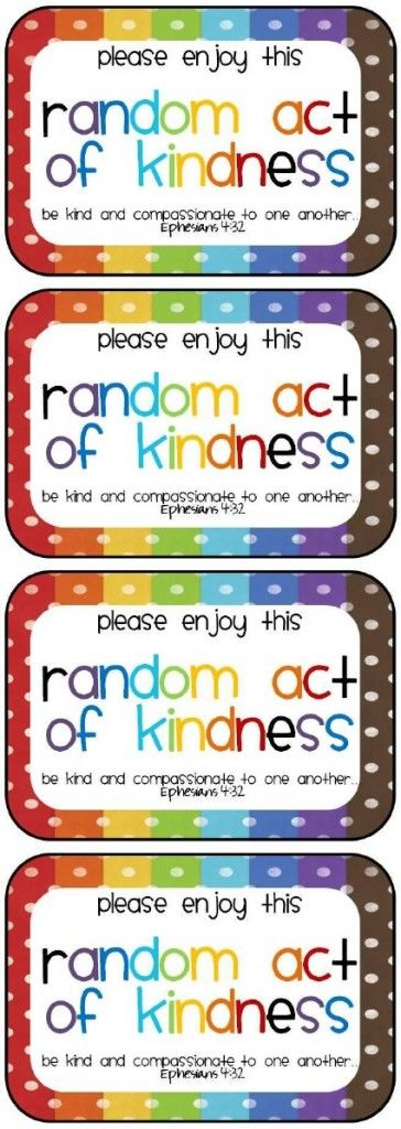 Not So Random Acts of Kindness From WholesomeMommy.com