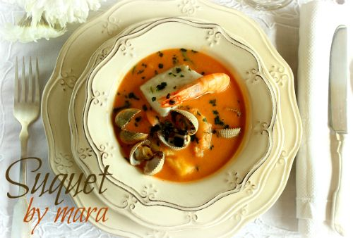 A saucy traditional Thermomix #recipe -- Spanish Suquet: