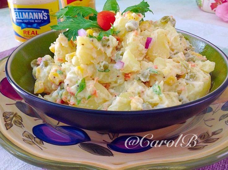 Potato salad #hellman'smayo