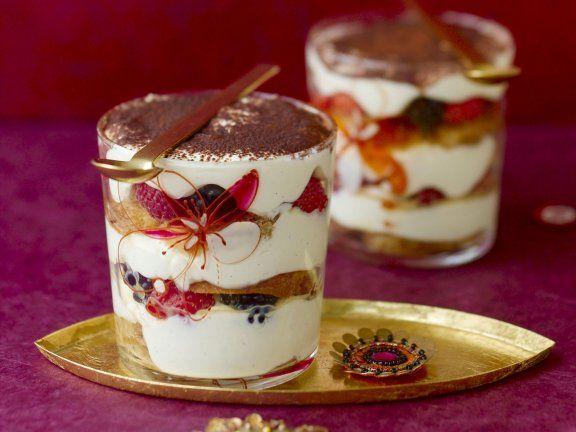 Probieren Sie das leckere weihnachtliche Tiramisu von Eat Smarter oder eines unserer anderen gesunden Rezepte!