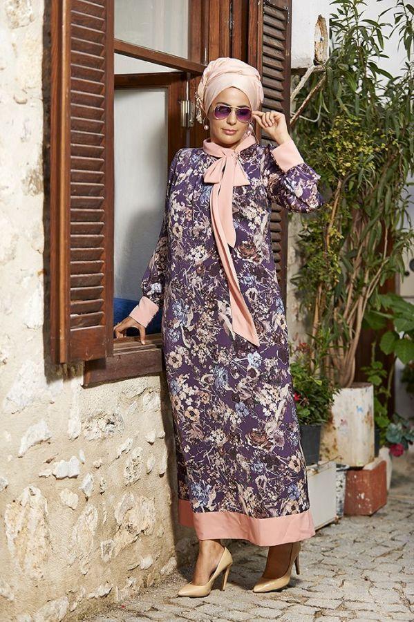 Nesrin Emniyetli Ebruli Elbise