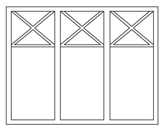Fönsteralternativ? 3-lufts med Spröjs 1:0 Kryss i övre spröjsrutan