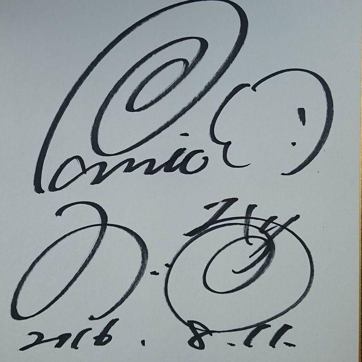 #パニック7 でお馴染みのういちさんにサインもらった#リノ 世界チャンピオンはやっぱりリノ打ってたw 今日仕事じゃなければ朝から行って隣で打ちたかったな あ一緒に写真撮ってもらうの忘れた #リノ向上委員会 #スロット #パチスロ必勝ガイド #パチスロ #パチスロ必勝ガイド #パチスロライター