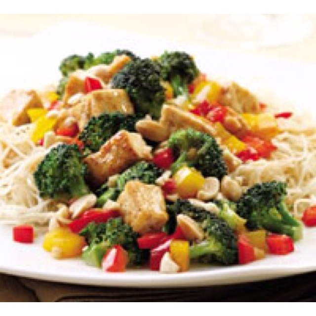 Tofu and lots of fresh vegetables are stir-fried in just a bit of oil in this traditional Chinese dish. In the Sichuan province of China where this dish originates, the tofu wouldn't be deep-fried like it is so often in America. Similarly, in our version of this takeout favorite we stir-fry the ingredients in only a little bit of oil.  Servings: 4 servings, about 1 cup each Prep: 30 mins Total: 30 mins 12345 by1  person Add to Shopping List Add to Recipe Box  ingredients 1  14-ounce package…