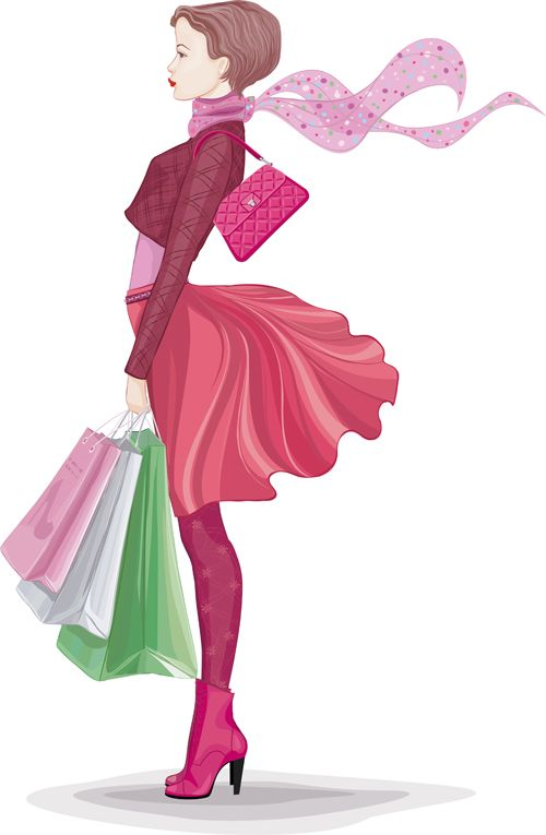 41 Best Images About Fashion Vector Girls On Pinterest