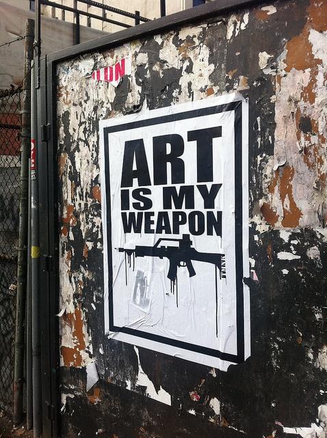 Art is my weapon..like a g36