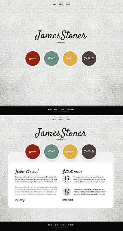 Simple Website Design Ideas nine lion design Find This Pin And More On Website Design