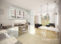 Projekty domów LK Projekt LK&506    wnętrze 2