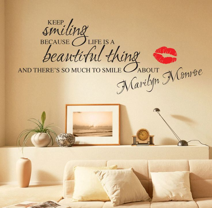 Cutest Wall Decal Quotes For Living Room In Interior Design For Impressive  Design A Wall Part 47