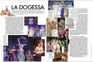 Elle Magazine: La Dogessa