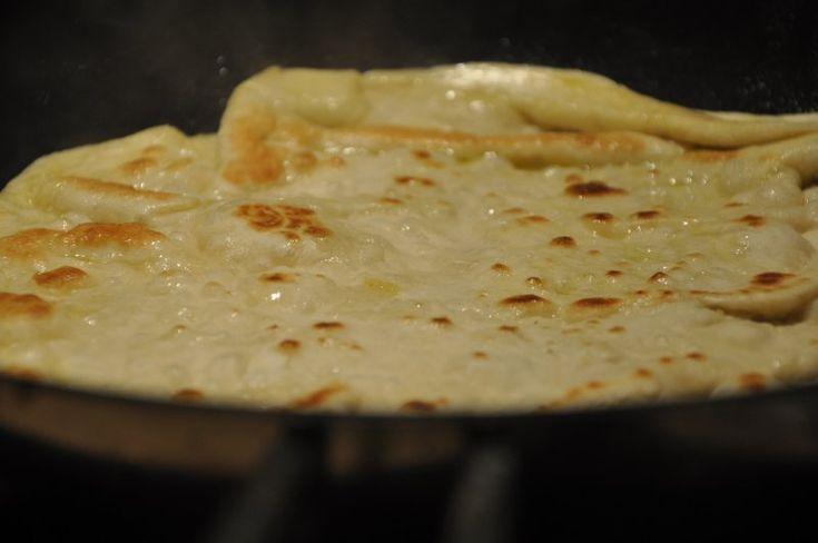 Gyros brød med fyld (Græsk pita brød)