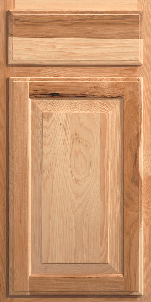 Merillat Classic Sutton Cliffs Cabinet Door In Natural Stain On Hickory Wood Merillat Classic