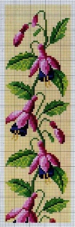 Fuchsia Cross Stitch