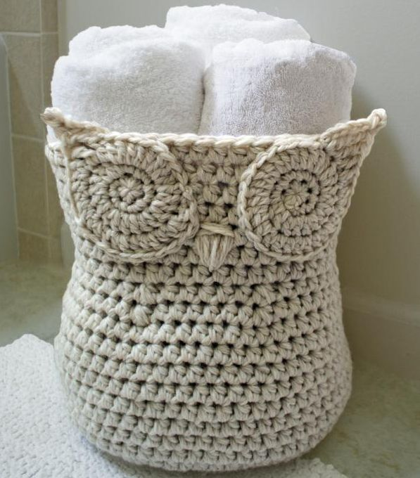 Crochet Owl Basket Pattern | Arts to CraftsArts to Crafts