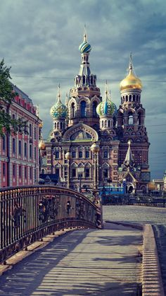 Gorgeous, St Petersburg, the second largest city in Russia. The city is home to The Hermitage, one of the largest art museums in the world.