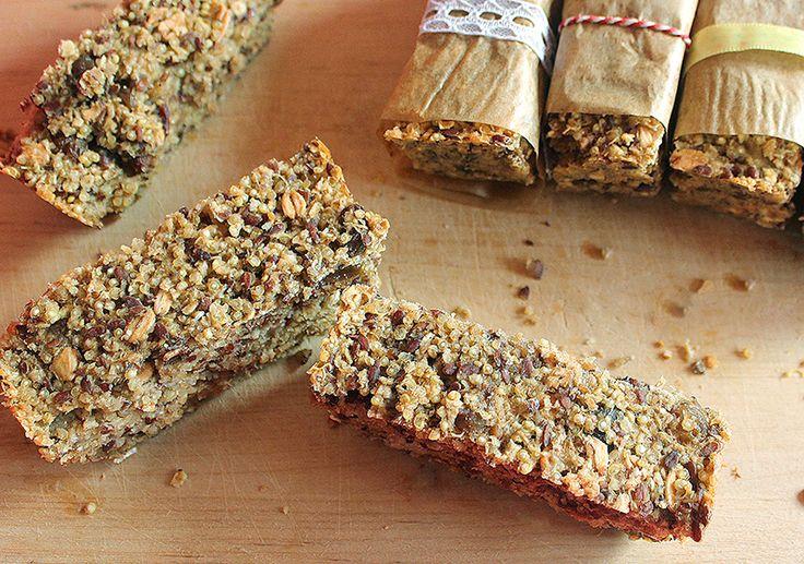 Suikervrije Quinoa Havermout repen