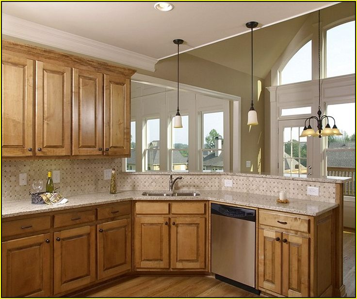 best kitchen wall colors with oak cabinets best 25 popular kitchen colors ideas on 9728