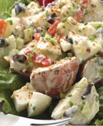Roasted Garlic Potato Salad http://wm13.walmart.com/Cook/Recipes/30805/