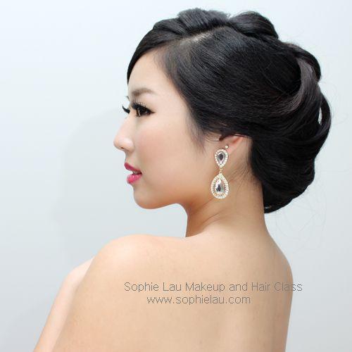 Asian Bridal Makeup Hair Sophielau