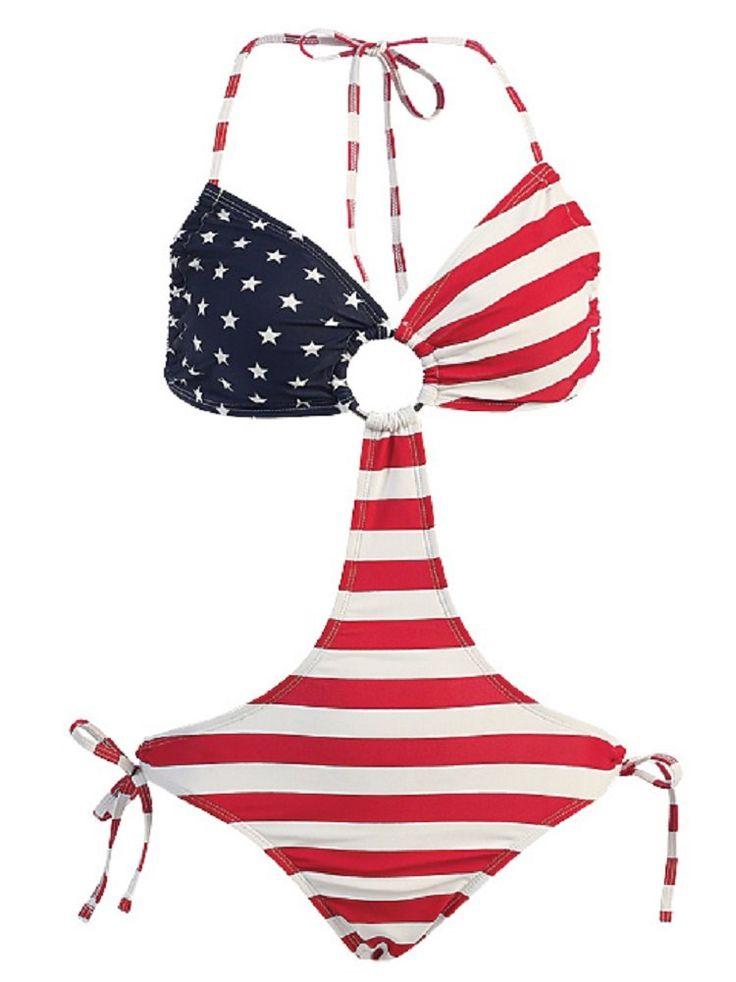 american flag in triangle box