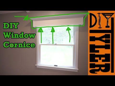Easy DIY Window Cornice - 177 - YouTube