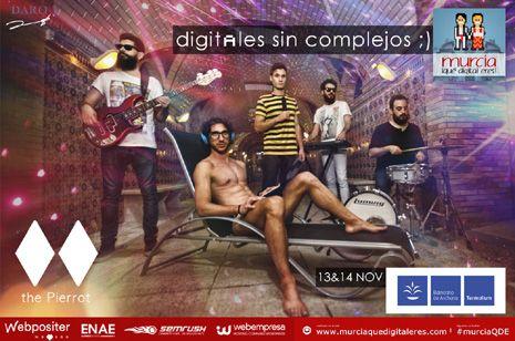 Empieza la cuenta atrás. Llega la segunda edición del evento de Marketing Digital Murcia ¡Qué Digital Eres! los días 13 y 14 de noviembre. Después de la gran repercusión que tuvo la primera edición, Murcia volverá a convertirse, un año más, en la capital del Marketing Online, las redes sociales y el emprendimiento.